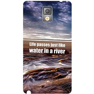 Samsung Galaxy Note 3 Water in a River