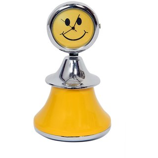 Table Clock Dancing Doll Yellow