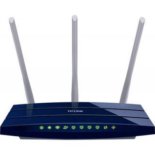 TP-Link TL-WR1043ND 450Mbps Wireless N Gigabit Router (Blue) 2-pin