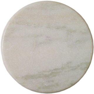Hamdmade Italian White Marble Roti Maker (Chakla)