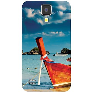 Samsung Galaxy S4 Ships Over Water