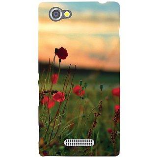 Sony Xperia M Wow Flowers