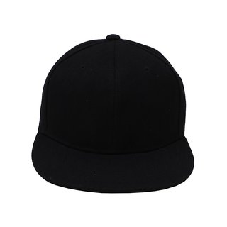Sushito  College Black Hip Hop Cap  JSMFHCP1442
