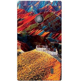 Nokia Lumia 520 Colorful Hills