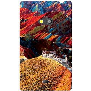 Nokia Lumia 625 Colorful Hills