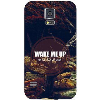 Samsung Galaxy S5 Wake Me Up