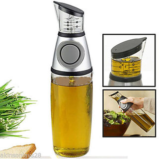 Easy Press  Measure Oil Vinegar Dispenser Container