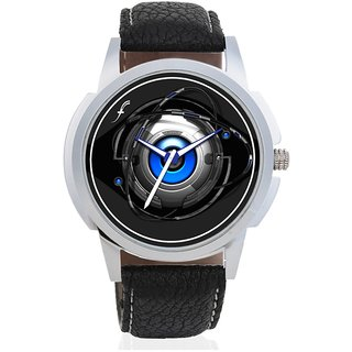 Black Analog Casual Wear Watches For Men