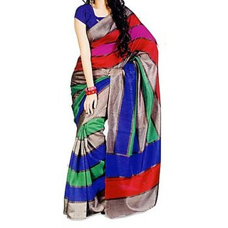 Party Wear Bhagalpur Designer Saree  Krazzy Seven Patta