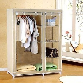 e8fdae773 Everything Imported 3.5 Feet Folding Wardrobe Cupboard Almirah Foldable