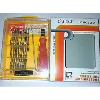 Jackly 32 in 1 Multifunction Professional Hardware Toolkit