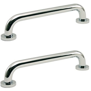 KT Hardware Solutions Grab Bar - 12 Inches - Set of 2