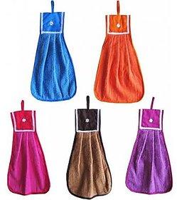 Set of 5 Hanging Towel