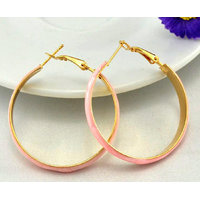Adorzia  Fashion Ornaments 18K Gold Plated Gorgeous Hoop Earrings ADOJW0159