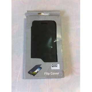 Micromax Bolt Q332 Leather Flip Cover Case Micromax Bolt Q332 Flip case Cover