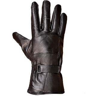 Fashion week Gloves Leather for girls