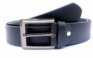 Official Black Leather Belt for Men