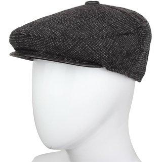 4790a96c5c9 Black Cotton Golf Cap For Men