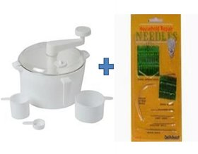 Buy Dough/Atta Maker With 3 Measuring Cup  Get 27 pcs Hand Sewing Needles Free