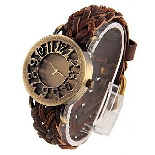 TOREK STYLISH VINTAGE CASUAL ANALOG WATCH FOR GIRLS,WOMEN