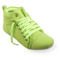 CatBird Women's Green Smart Casuals Shoes