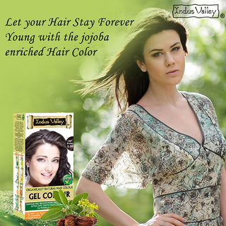 Indus valley Halal Natural Hair Color- Light Brown 5.0
