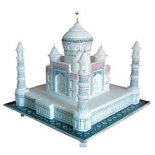 Pooja Creation Taj Mahal 3 in soft marble