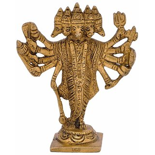 Panchmukhi Hanuman Made Of Metal