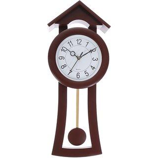 President Hut Wall Clock with Pendulum: Buy President Hut ...