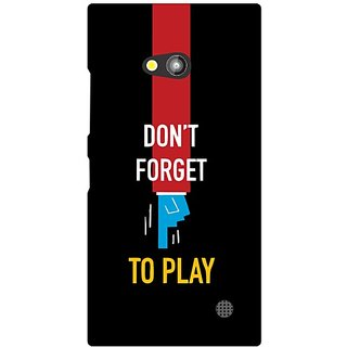 Nokia Lumia 730 Dont Forget To Play