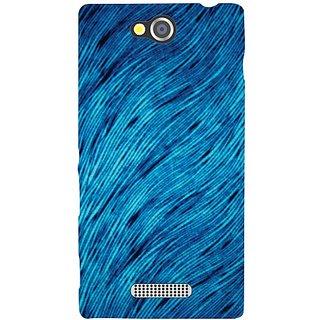 Sony Xperia C Blue Shade