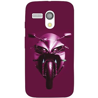 Moto G Purple Ride