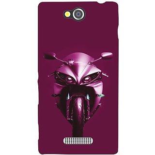 Sony Xperia C Purple Ride