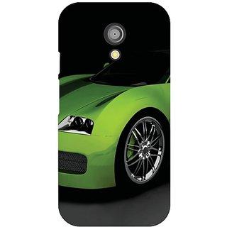 Moto G 2nd Gen Green Car