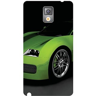 Samsung Galaxy Note 3 Green Car
