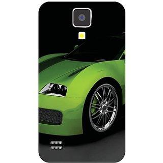 Samsung Galaxy S4 Green Car