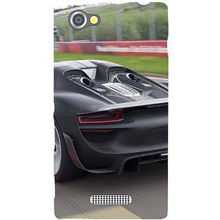 Sony Xperia M Racing Car
