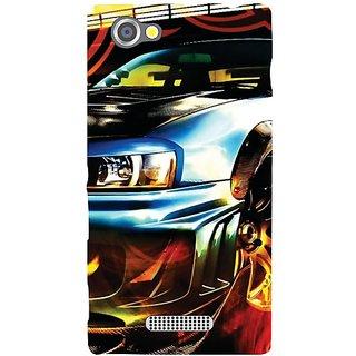 Sony Xperia M Attractive Car