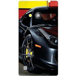 Nokia Lumia 720 black car