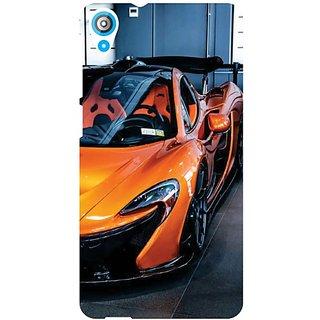 HTC Desire 820Q orange color