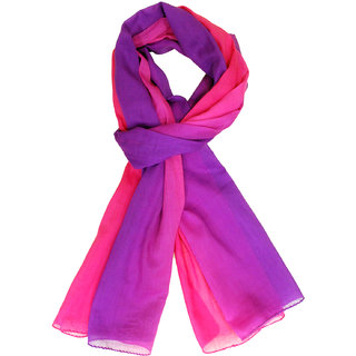 Ombre Scarf -Pink Purple