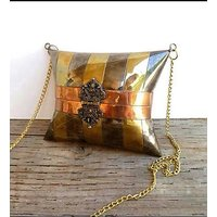 Golden Hand Made Jhola Bags