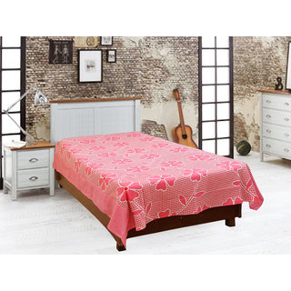 Akash Ganga Cotton Single Diwan Bedsheet (Diwan2)