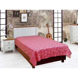 Akash Ganga Cotton Single Diwan Bedsheet (Diwan3)