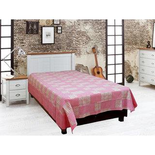 Akash Ganga Cotton Single Diwan Bedsheet (Diwan6)