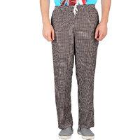 Wajbee Mens Checkered Pyjama