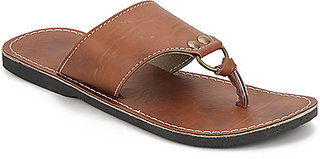 Forever Men's Brown Ethnic Sandal