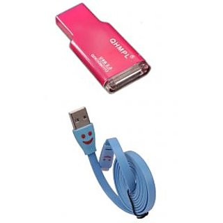 Smile usb cable  Card Reader Combo