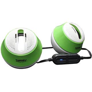 Zebronics Drum - Green 2.0 Speaker