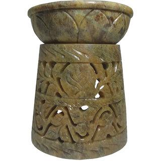 Pooja Creation Handicrafts Stone Aroma Diffuser (Cone Shape) 10 cm